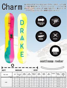 16-17 DRAKE Charm