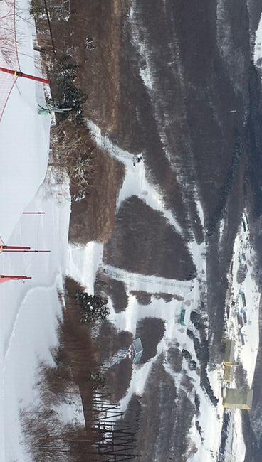 安比高原スキー場 山頂から