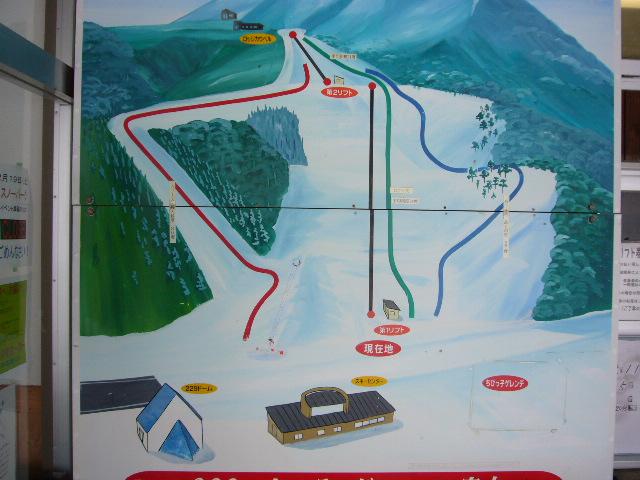創遊村229スキーランド コースマップ